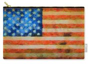 Civil War Flag Carry-all Pouch