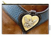 Civil War Horse Breastplate Carry-all Pouch