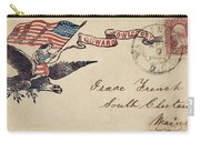 Civil War Letter 18 Carry-all Pouch