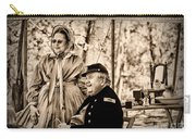 Civil War Officer And Wife Carry-all Pouch