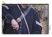 Civil War Union Soldier Reenactor Loading Musket Carry-all Pouch