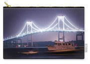 Claiborne Pell Bridge At Night Carry-all Pouch