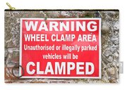 Clamping Sign Carry-all Pouch