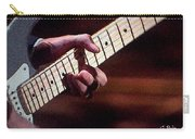 Clapton Playing Guitar - Watercolor Painting Carry-all Pouch