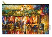 Clarens Misty Cafe Carry-all Pouch by Leonid Afremov