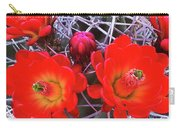 Claretcup Cactus Blooms Carry-all Pouch