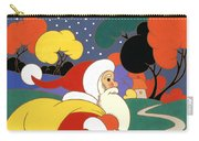 Clarice Cliff Santa Carry-all Pouch