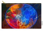 Clarity In The Midst Of Confusion Abstract Healing Art Carry-all Pouch