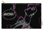 Clark Gable Cartoon Poster Neon Carry-all Pouch