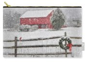 Clarks Valley Christmas 2 Carry-all Pouch