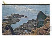 Clashing Tides At Tip Of Cape D'or-ns Carry-all Pouch