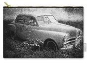 Clasic Car - Pen And Ink Effect Carry-all Pouch