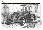 Classic Auto With Formal Gardens Carry-all Pouch