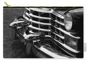 Classic Cadillac Sedan Black And White Carry-all Pouch