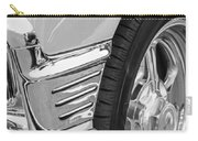 Classic Car Reflections - Training Wheels -179bw Carry-all Pouch