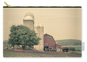 Classic Farm With Red Barn And Silos Carry-all Pouch