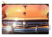 Classic Ford Car Hood Peach Carry-all Pouch