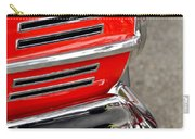 Classic Impala In Red Carry-all Pouch