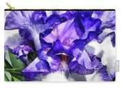 Classic Look Iris Closeup Carry-all Pouch