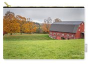 Classic New England Fall Farm Scene Carry-all Pouch