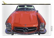 Classic Red Mercedes Benz 300 Sl Convertible Sportscar  Carry-all Pouch