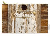 Classic Rustic Rural Worn Old Barn Door Carry-all Pouch