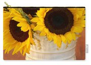 Classic Sunflowers Carry-all Pouch
