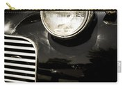 Classic Vintage Car Black And White Carry-all Pouch