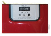 Classic Vintage Tokheim Red Indian Gas Pump Dsc02739 Carry-all Pouch