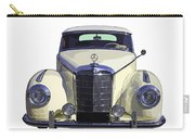 Classic White Mercedes Benz 300  Carry-all Pouch