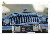 Classic Yellow 49' Buick Eight Carry-all Pouch