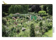 Claude Mounets Green Garden Gate Carry-all Pouch