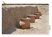 Clay Pots At Huaca Pucllana In Lima Peru Carry-all Pouch