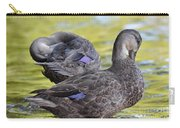 Ducks On Green Carry-all Pouch