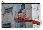 Cleaning Skyscraper Window And Wall With Snorkel Singapore Carry-all Pouch