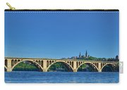 Clear Blue Skies At Key Bridge Carry-all Pouch