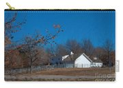 Clear Blue Sky - Oil On Canvas Carry-all Pouch