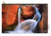 Clear Creek Falls Carry-all Pouch by Inge Johnsson