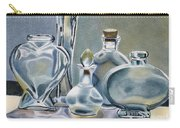 Clear Glass Bottles Carry-all Pouch