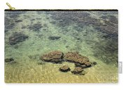 Clear Indian Ocean Water With Rocks At Galle Sri Lanka Carry-all Pouch