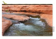 Clear Water At Slide Rock Carry-all Pouch by Carol Groenen