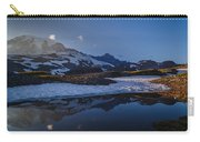 Clear Water Rainier Reflection Carry-all Pouch