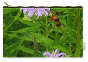 Clear-winged Hummingbird Moth Carry-all Pouch