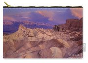 Clearing Sunrise Storm Zabriske Point Death Valley National Park California Carry-all Pouch