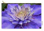 Clematis Blue Carry-all Pouch