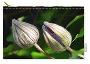 Clematis Buds Carry-all Pouch