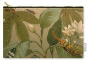 Clematis Cicada And Beetles 1894 Carry-all Pouch
