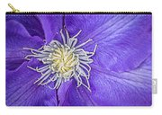 Clematis Dramatis Carry-all Pouch