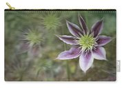 Clematis Fantasy Carry-all Pouch