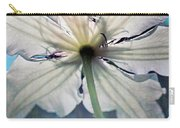 Clematis In Morning Sun Carry-all Pouch